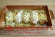 Кафтаны с картошкой и сыром